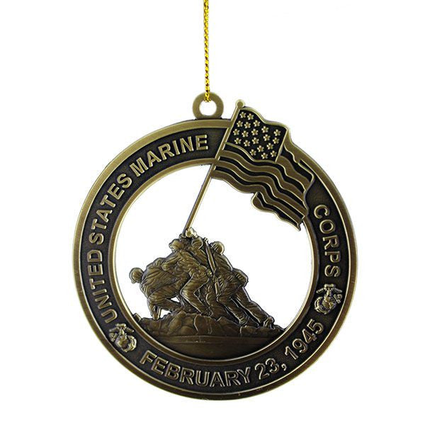 Christmas Tree Ornament: Marine Corps