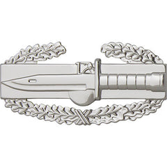 Army Badge: Combat Action First Award - regulation size, mirror finish
