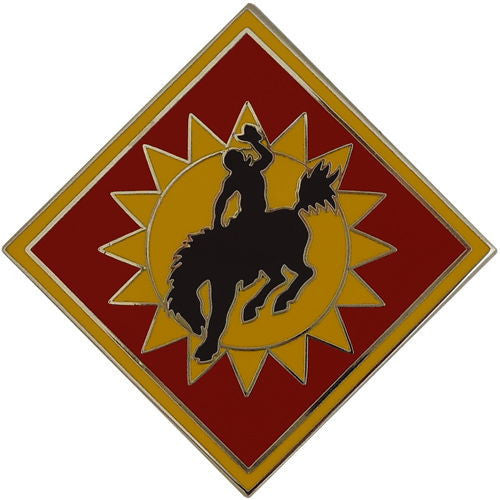 Army Combat Service Identification Badge (CSIB): 115th Field Artillery Brigade
