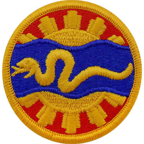 Army Patch: 116th Cavalry - color