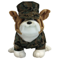 Marine Corps Chesty Bulldog in Woodland Marpat with Cover 13