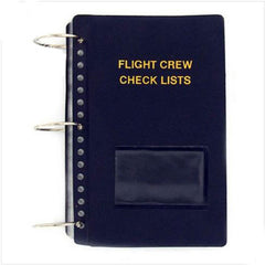 Flight Crew Checklist - vinyl soft cover