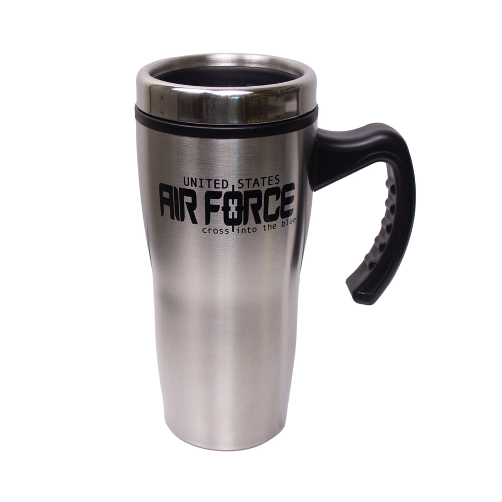 Air Force Stainless Steel Mug: Air Force Logo