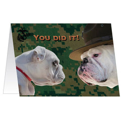 Marine Corps Greeting Card - Graduation