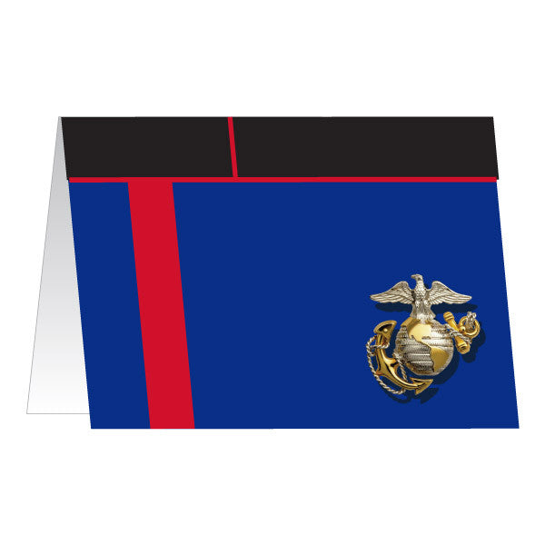 Marine Corps Greeting Card - Dress Blue