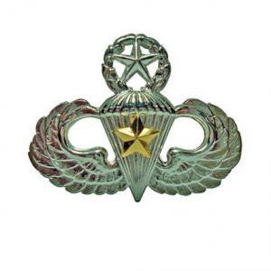 Army Badge: Master Combat Parachute Fifth Award