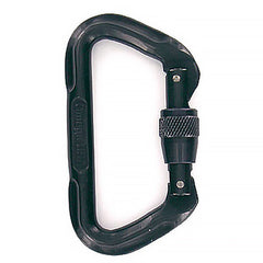 Carabiner: Locking Gate - black