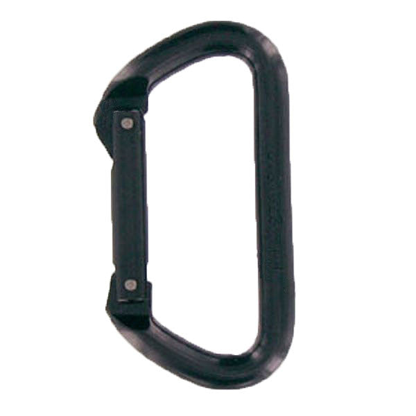 Carabiner: Non Locking Gate - black