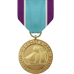 Full Size Medal: Coast Guard Distinguished Service
