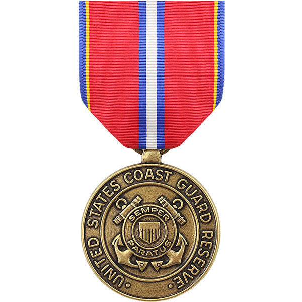 Full Size Medal: Coast Guard Reserve Good Conduct