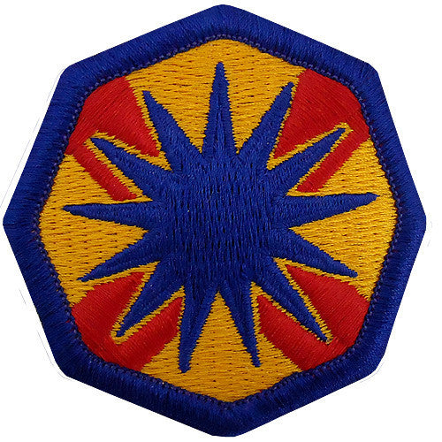 Army Patch: 13th Support Command - color