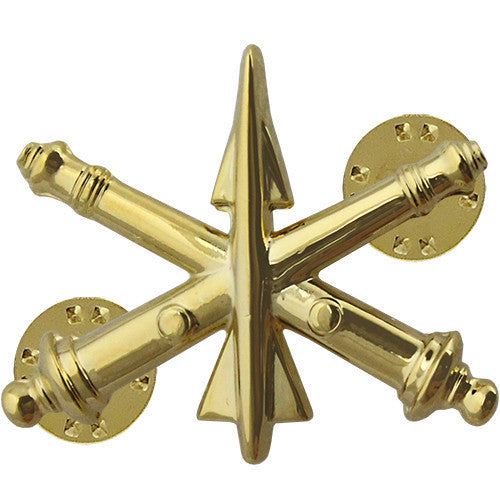 Army Officer Branch of Service Collar Device: Officer Air Defense Artillery