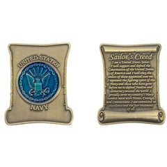 Coin: Navy Sailor's Creed