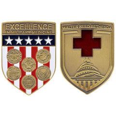Coin: Walter Reed Bethesda Shield