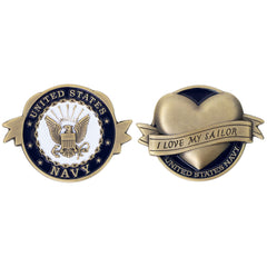 Coin: US Navy I Love My Sailor