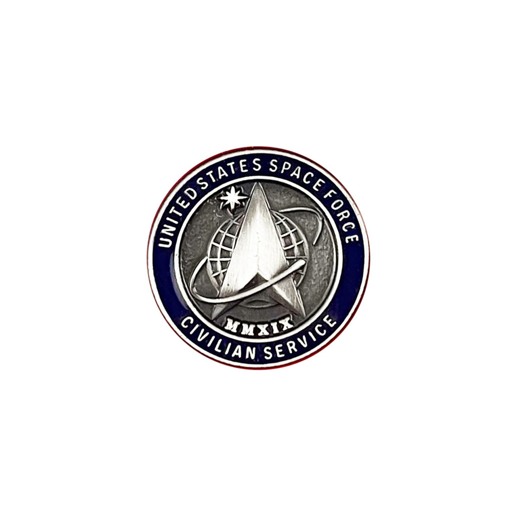 Space Force Lapel Pin: US Space Force Civilian Service