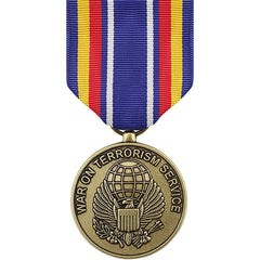 Full Size Medal: Global War on Terrorism Service