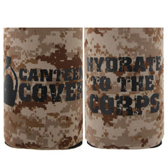 Marine Corps Desert Koozie: Can Cover - canteen cover