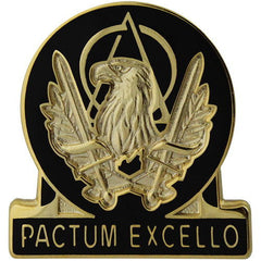 Army Corps Crest: Acquisition - Pactum Excello