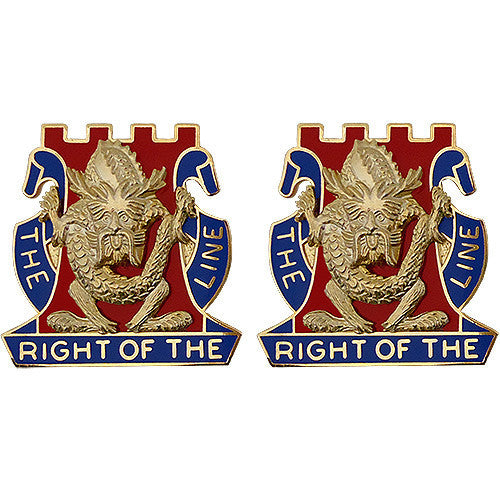 Army Crest: 14th Infantry Regiment - The Right of The Line