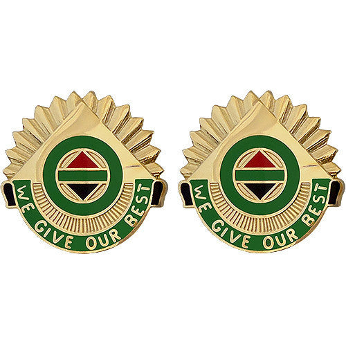 Army Crest: 14th Military Police Brigade - We Give Our Best