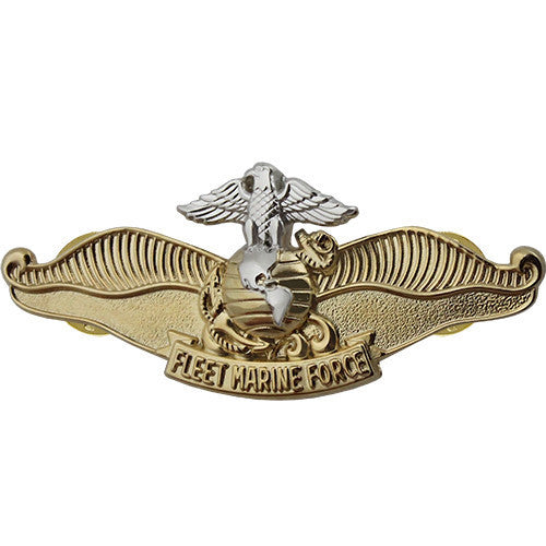 Navy Breast Badge: Fleet Marine Force Chaplain - miniature