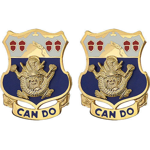 Army Crest: 15th Infantry Regiment - Can Do