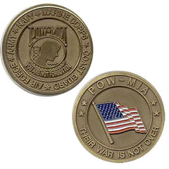 Coin: POW MIA - Their War is Not Over