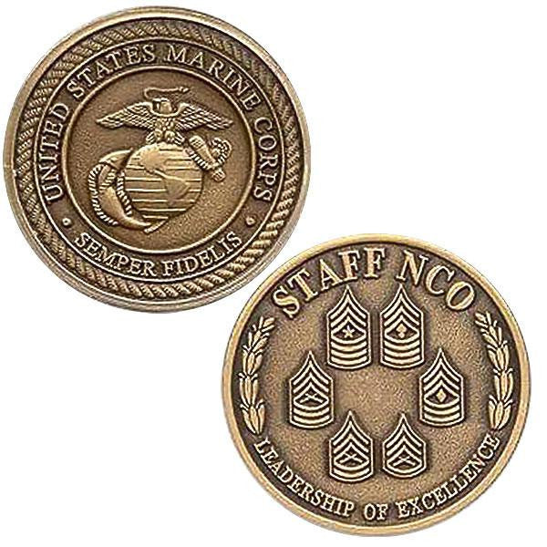 Coin: Marine Corps Staff Non-Commissioned Officer