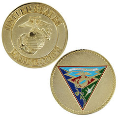 Marine Corps Coin: 1 3/4