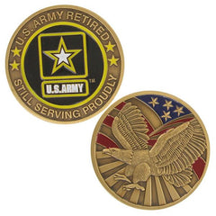 Army Coin: United States Army Retired