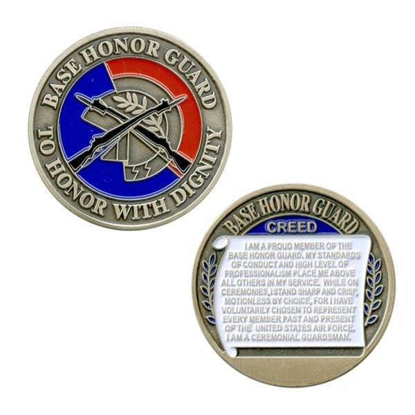 Air Force Coin: Base Honor Guard