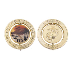 Marine Corps Spinner Coin:  2