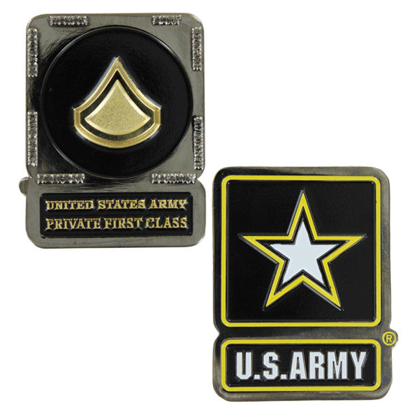 Army Coin: Private First Class