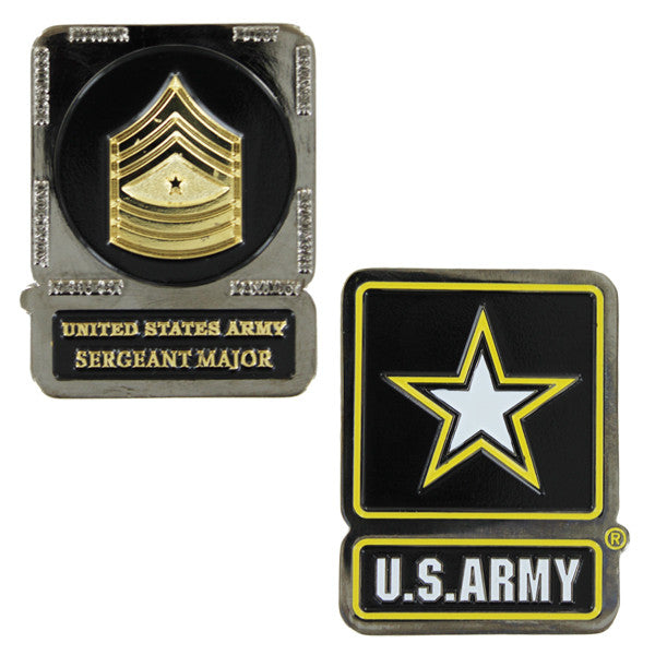 Army Coin: Sergeant Major