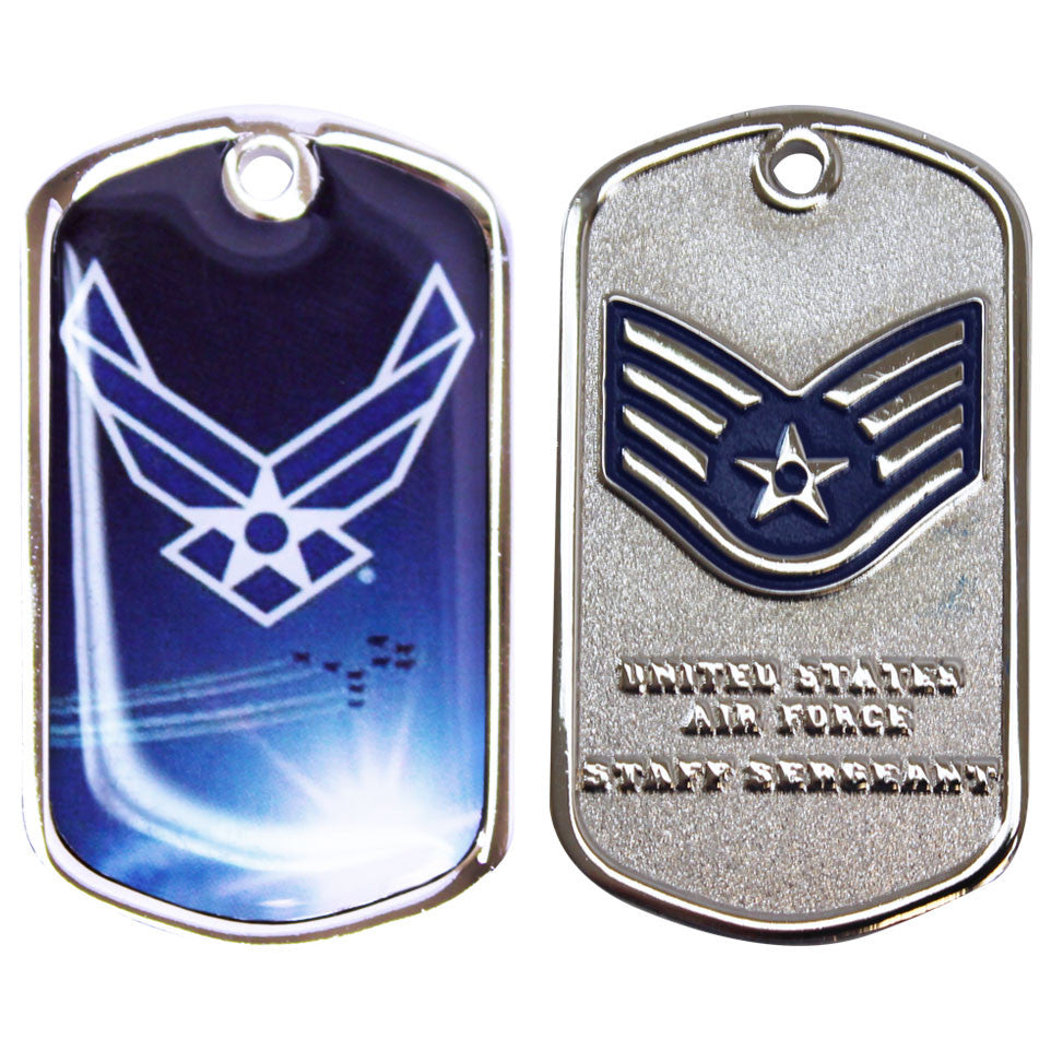 Air Force Coin: Staff Sergeant