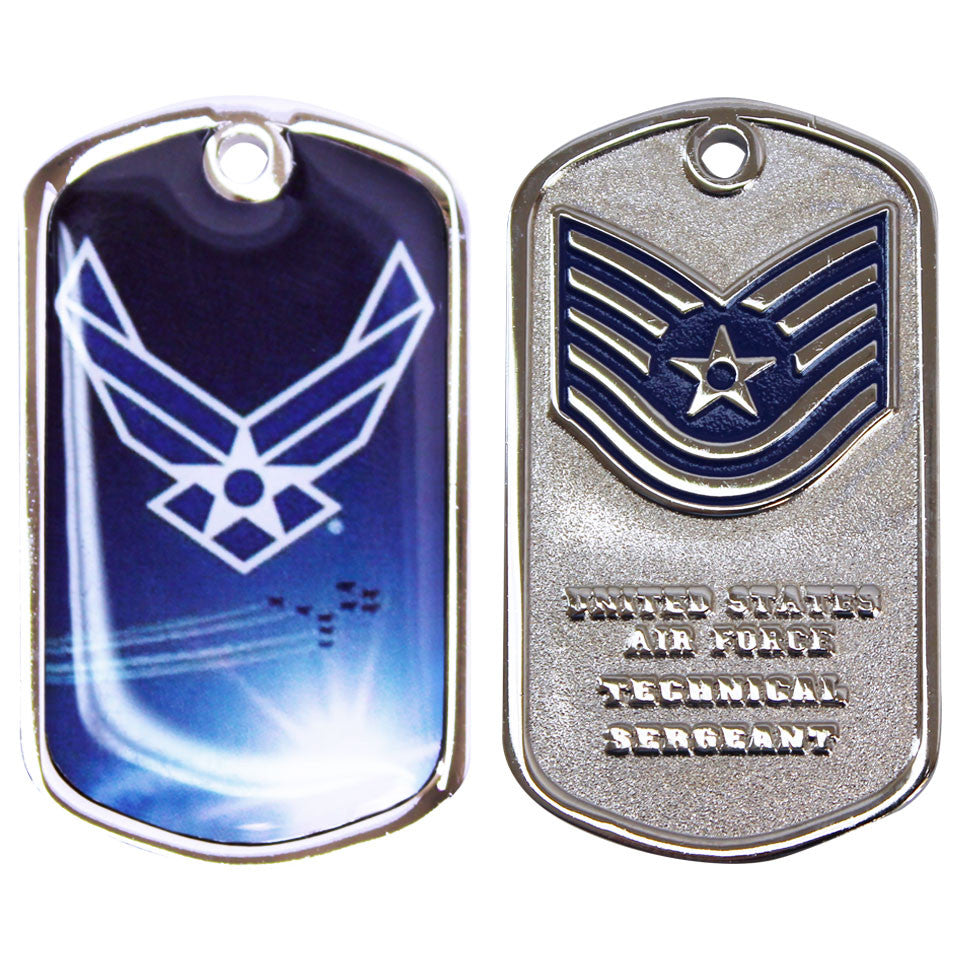 Air Force Coin: Tech Sergeant