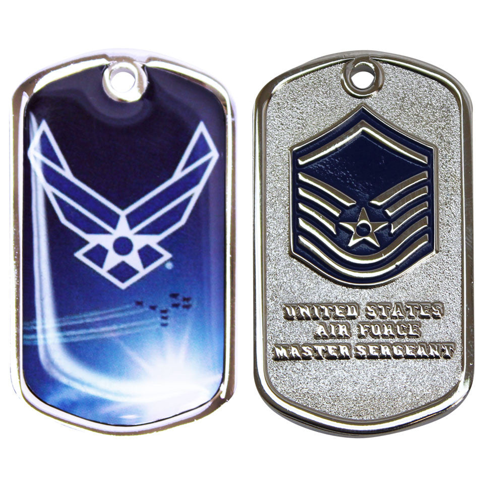 Air Force Coin: Master Sergeant