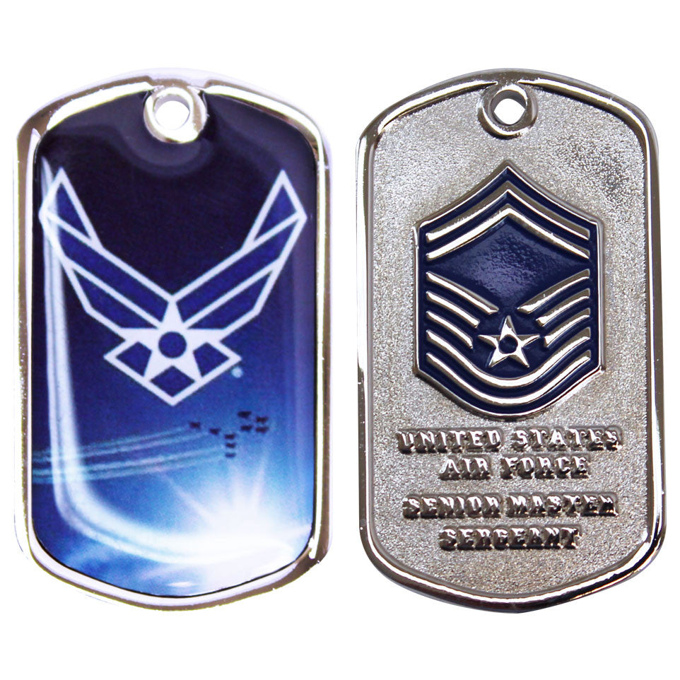 Air Force Coin: Senior Master Sergeant