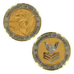 Navy Coin: E6 Petty Officer First Class