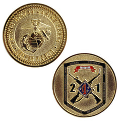 Coin: Marine Corps 2nd Battalion 1st Marines