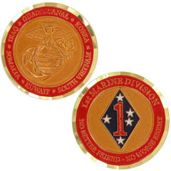 Marine Corps Coin: First Marine Division
