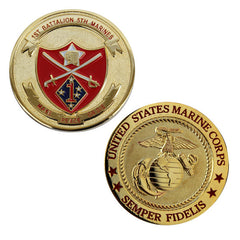 Coin: Marine Corps 1st Battalion 5th Marines
