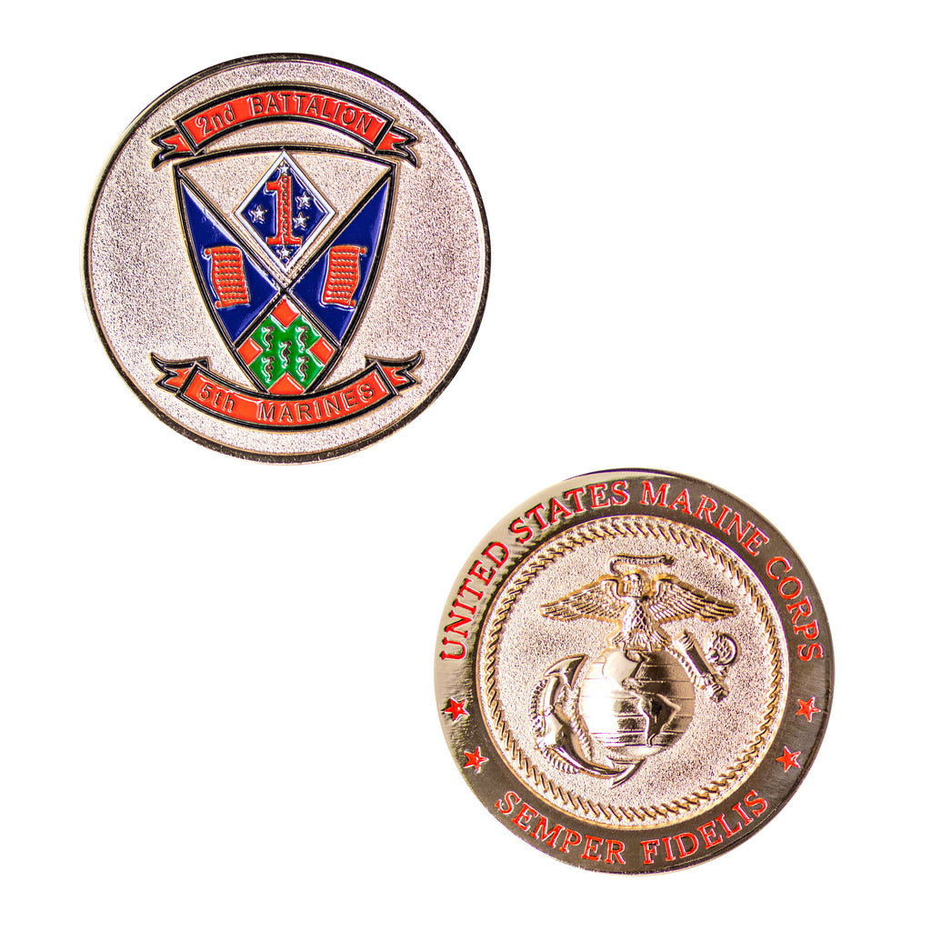 Coin: Marine Corps 2nd Battalion 5th Marines