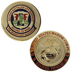 Coin: Marine Corps 2nd Battalion 4th Marines