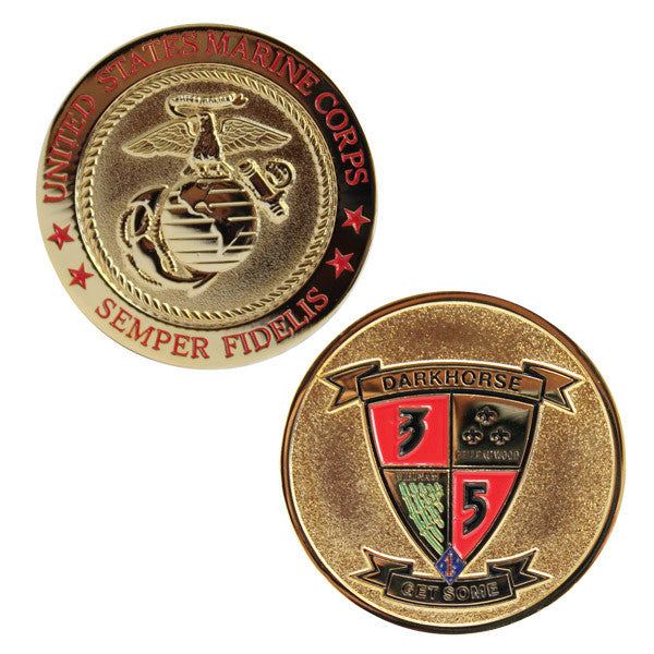 Coin: Marine Corps 3rd Battalion 5th Marines