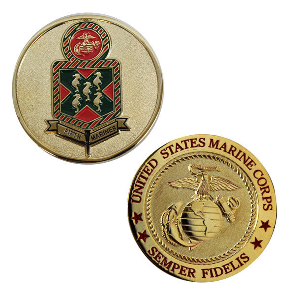 Coin: Marine Corps 5th Marines
