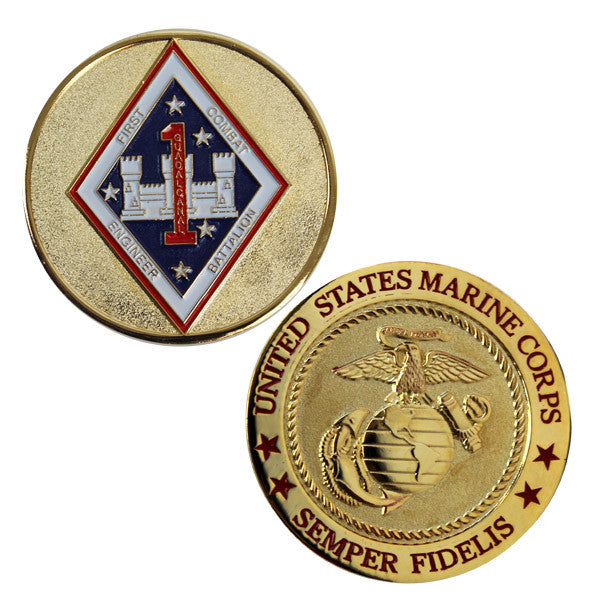 Coin: Marine Corps 1st Combat Engineer