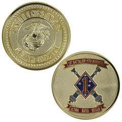 Marine Corps Coin: First Battalion Eleventh Marines