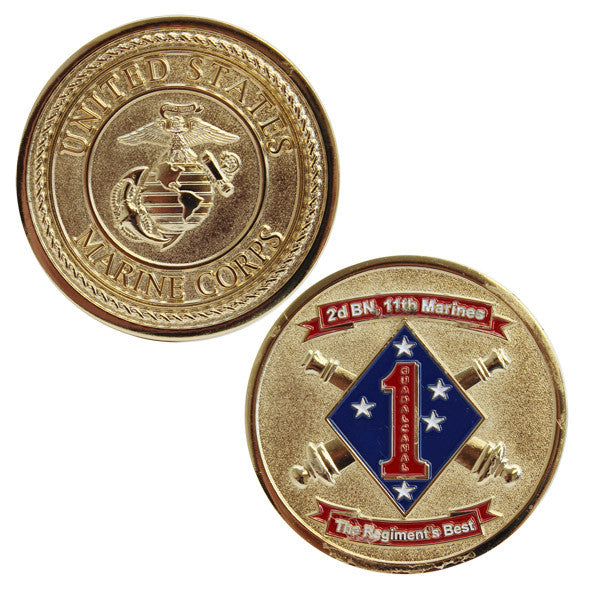 Coin: Marine Corps 2nd Battalion 11th Marines